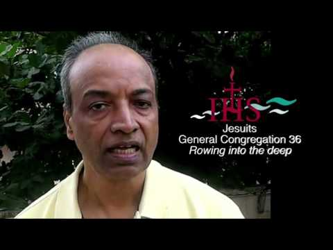 Jesuits :  GC 36 - George Pattery sj Provincial Superior South Asia