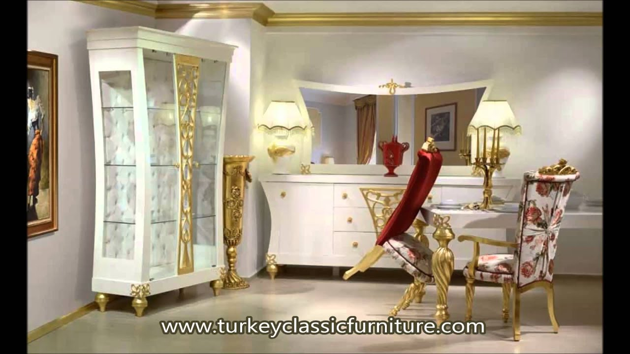Classic Luxury Dining Room Furniture Decoration - YouTube