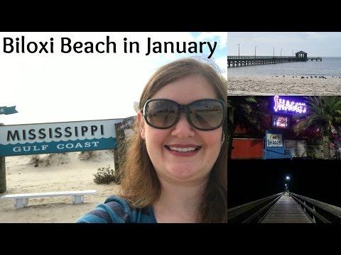 Biloxi Beach in January - Alisa's Solo Trip