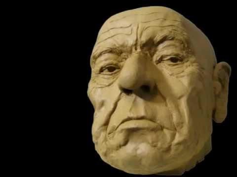 modelage d 39 un visage en argile tape par tape youtube
