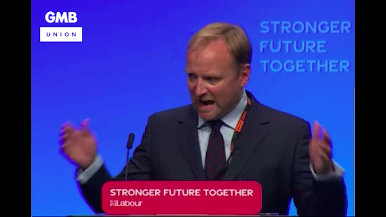 Gary Smith moves GMB's Green New Deal Motion at #Lab21 | GMB Union