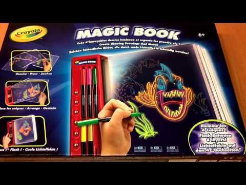 Magic Book Von Crayola Youtube