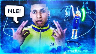 USING NLE CHOPPA'S REAL LIFE JUMPSHOT ON NBA 2K19! GREEN RELEASE EVERY TIME!