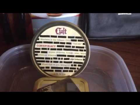 "PipeCat reviews Cult ""Conspiracy"" pipe tobacco"
