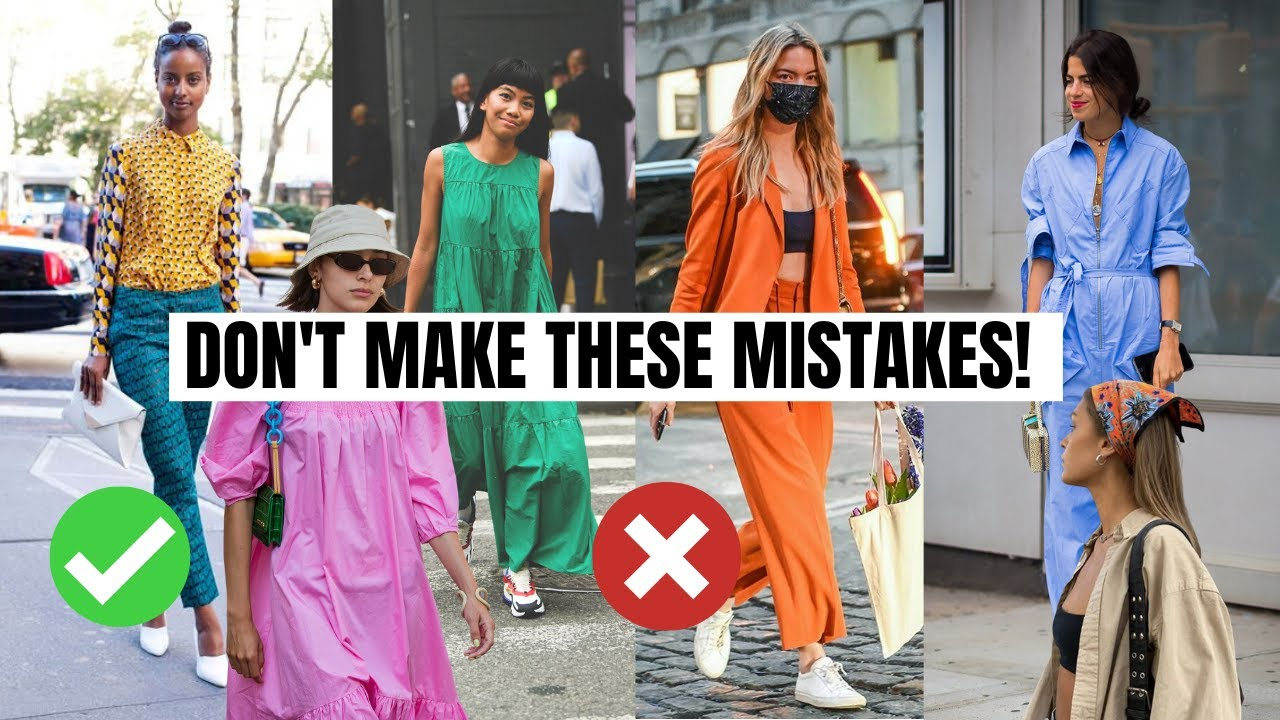 10 Style Mistakes I Regret Making -- Fashion Trends 2021