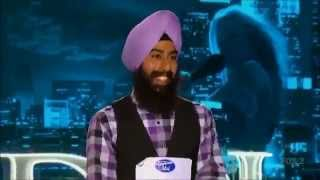 "Sikh Contestant Gurpreet Singh Sarin ""Turbanator"" in American Idol Season 12"