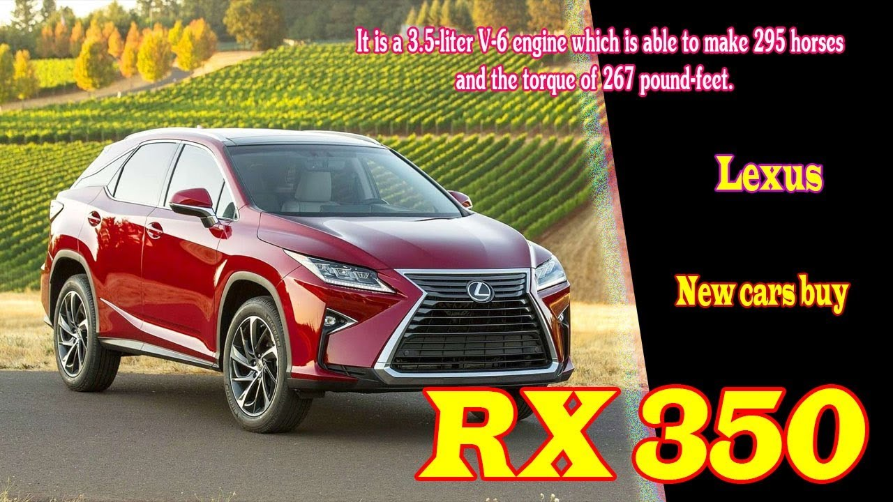 2019 Lexus Rx 350 Redesign | 2019 Lexus Rx 350 Release Date | 2019 Lexus Rx  350 Hybrid