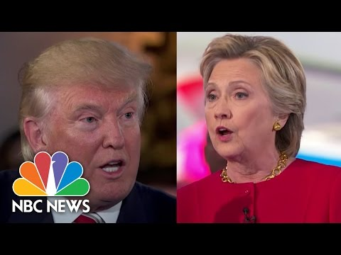 Donald Trump And Hillary Clinton On Iraq, ISIS, And More From Commander-in-Chief Forum | NBC News