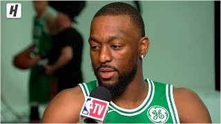 Kemba Walker Reveals Why He Joined The Celtics, Interview | 2019 NBA Media Day