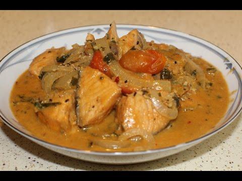 Brazilian Style Salmon Stew