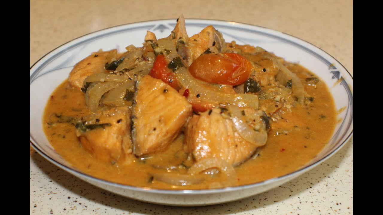 Brazilian Style Salmon Stew - YouTube
