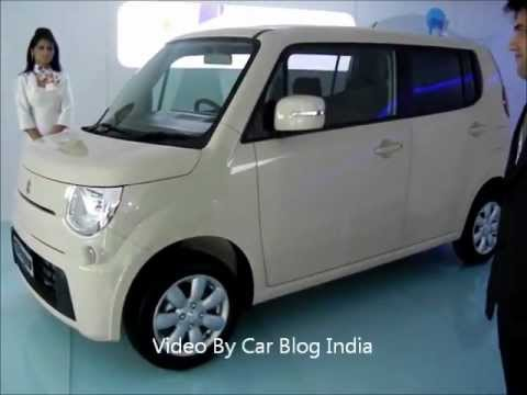 Maruti Suzuki MR Wagon At Auto Expo 2012 India - Future of Maruti Wagon R For India