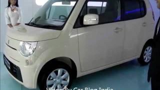 Maruti Suzuki MR Wagon At Auto Expo 2012 India - Future of Maruti Wagon R For India