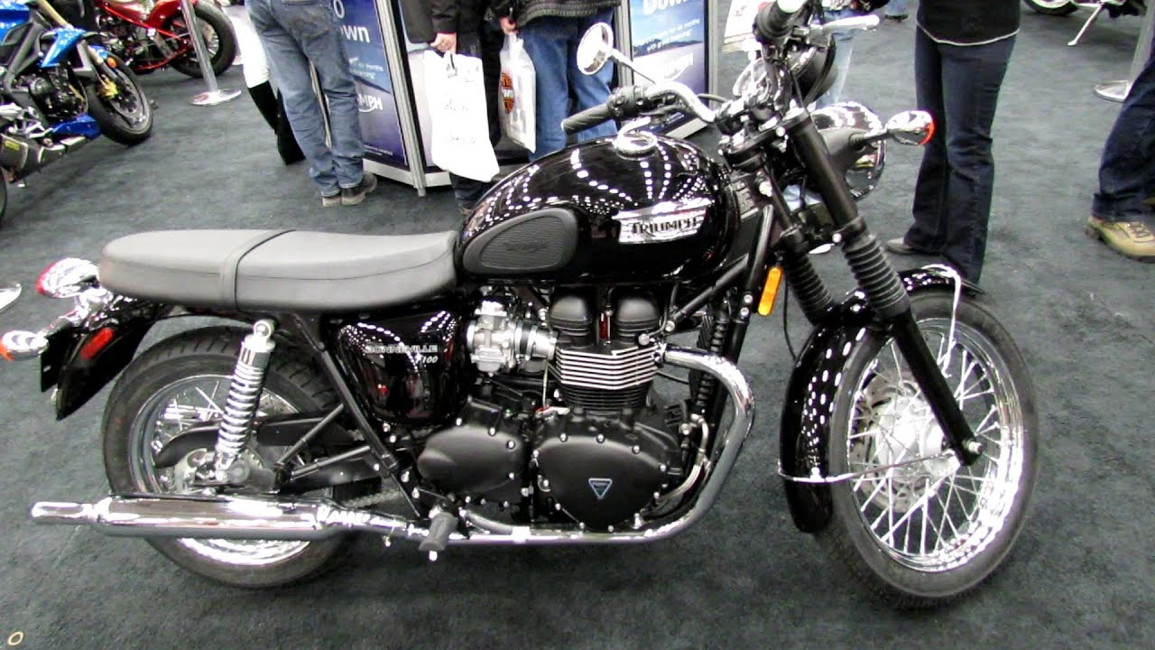 2013 Triumph Bonneville T100 - Walkaround - 2013 Quebec City ...