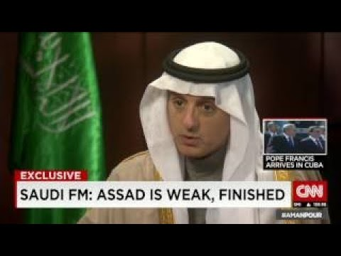 Saudi foreign minister: Assad is finished in Syria - The Best Documentary Ever