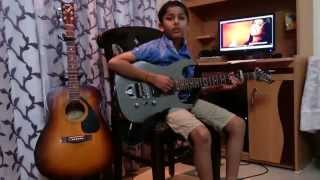 tere bina from heropanti guitar cover by rio