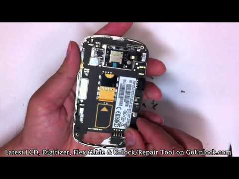 Blackberry Bold 9900 9930 Screen Repair Disassemble Take Apart Video Guide