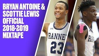 Bryan Antoine and Scottie Lewis OFFICIAL 2018-2019 Season Mixtape - Best duo in high school?!