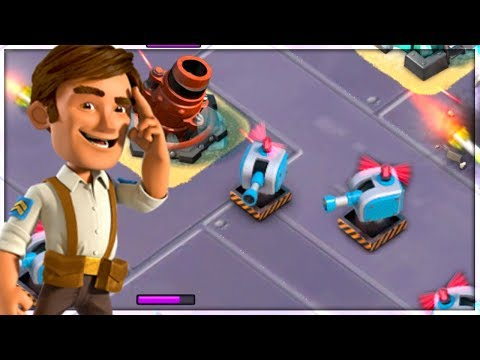 Boom Beach MEGA TURTLE Best Defense/Ability?! (Stages 15-21)