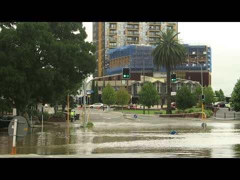 Storm dumps massive rain Road Closed from...