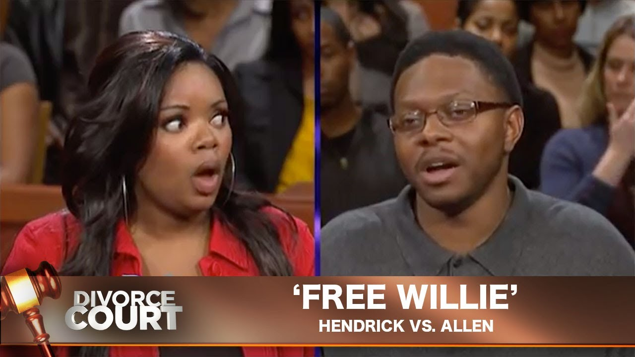 Vintage Divorce Court- Hendrick Vs. Allen:  Free Willie