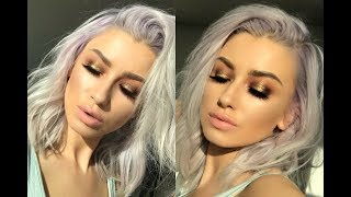 GOLD ABH SOFT GLAM TUTORIAL | lolaliner