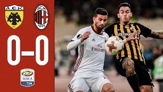 Download Video HIGHLIGHTS: AC Milan vs AEK Athens. It's 0-0 in Athens. MP3 3GP MP4