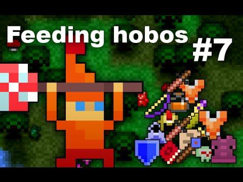 Feeding Hobos #7 - Hello Candy Gnome!