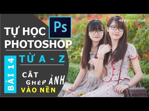 Photoshop CC 2015: Cắt ghép hình với Photoshop - Bài 14