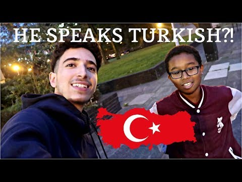 I Met A Black TURKISH Person For the First time!!