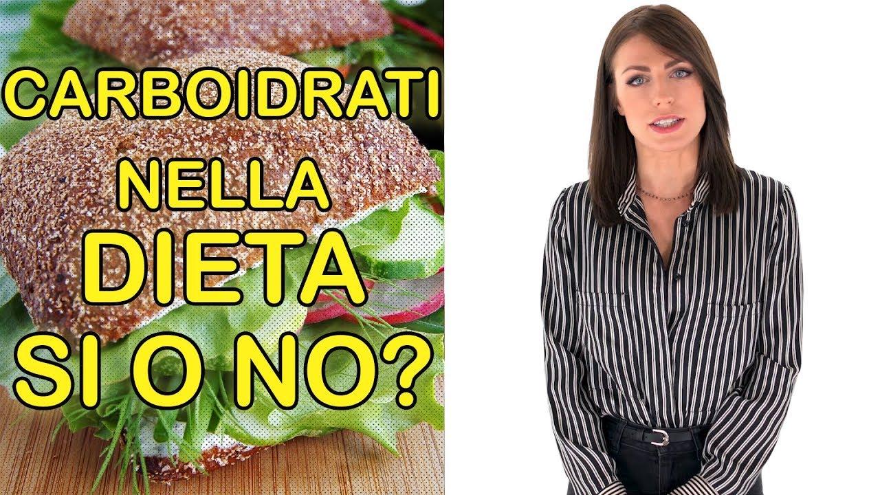 eliminare carboidrati nella dieta