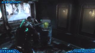 Dead Space 3 - Chapter 14 - All Collectible Locations (All Artifacts, Logs, Weapon Parts, Circuits)