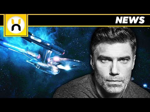 Anson Mount Cast as Captain Pike for Star Trek: Discovery Season 2