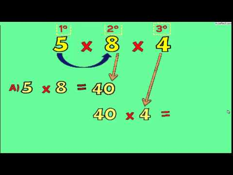 La Propiedad Asociativa de la Multiplicación/La Multiplicación ...