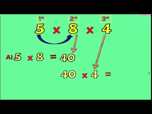 ▷ La Multiplicación - Matematicas Cuarto Primaria