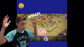 REACTING TO MY OLD VIDEOS!😂 (CLASH OF CLANS & CLASH ROYALE!)
