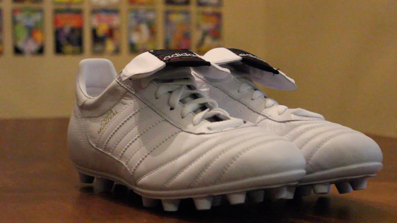 5bd148837b3b Adidas Copa Mundial WHITEOUT Unboxing. Shoot And Thrill