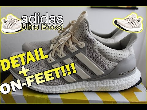 8d0e5bfb adidas Cream/Chalk Ultra Boost - Detailed Look & On Foot! - YouTube