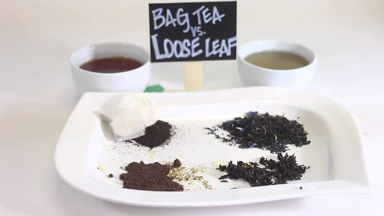 Steeping Tea Bags Vs Whole Leaves
