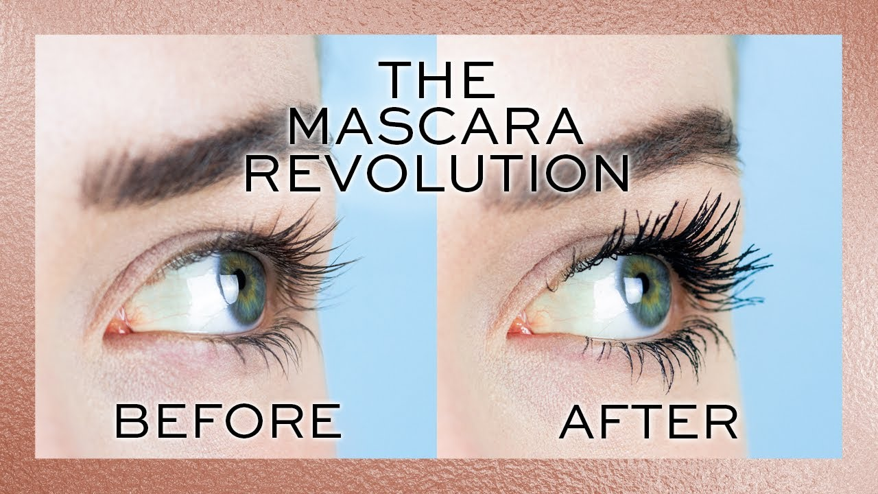 5dc3775b539 REVOLUTION | THE MASCARA REVOLUTION IN WATERPROOF! BEFORE & AFTER ...