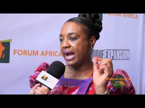 Forum Africa 2015 : Nathalie Chinje Directrice de l'agence  Upbeat marketing