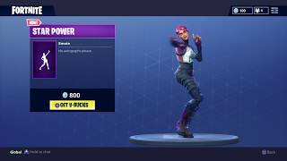 Fortnite: Battle Royale - New Emote - Star Power (Brite Bomber Skin)