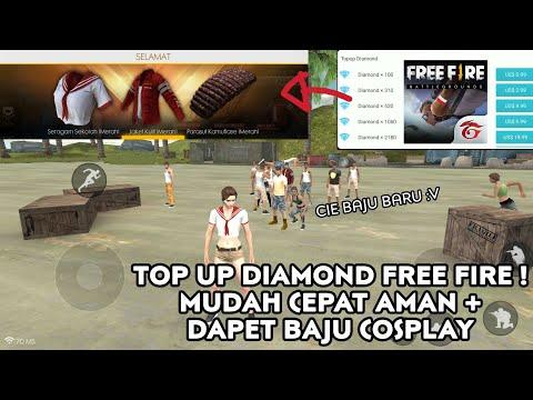 Cara Top Up Diamond Terbaru di Free Fire Battleground Garena - Mudah Aman dan Lancar