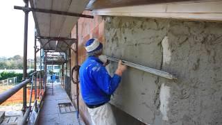 Sanawarme: intonaco bioedile termo-coibente deumidificante (italiano)