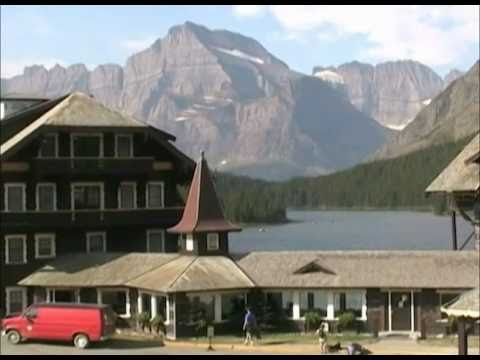 Grand Hotel - Many Glacier Hotel - Glacier National Park, Montana, MT