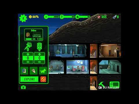 (Fallout Shelter) SENDING SOMEONE OUT INTO THE WASTELAND!?!?!?!?