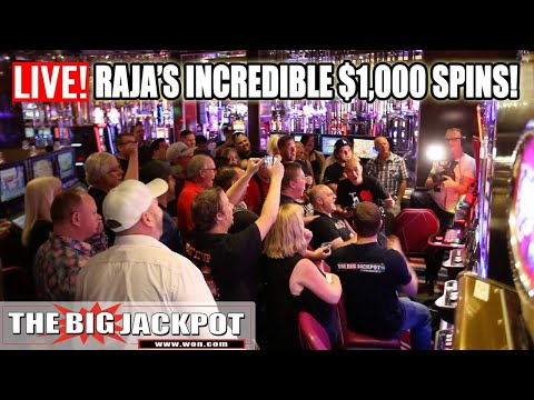 Outrageous $1000 Spin Max Bet High Limit Slot Play - The Big Jackpot