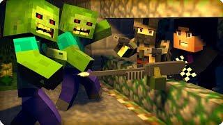 Адская ночь, оборона! [ЧАСТЬ 19] Зомби апокалипсис в майнкрафт! - (Minecraft - Сериал)