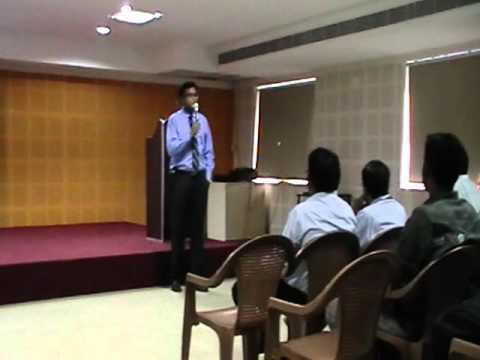 Speech on Entrepreneurship by ARUN G SEKARAN PART-2