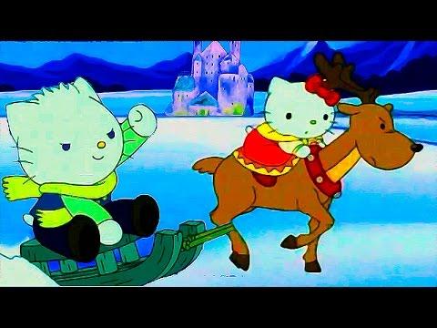 Хелло китти мультфильм снежная королева